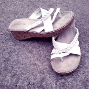 Lower East Side Wedge Sandals Size 7.5